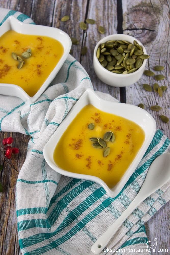 zupa mleczna z dyni