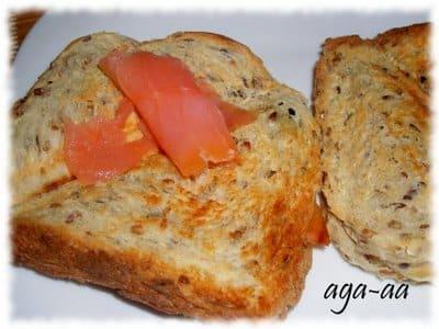 Na śniadanie lub kolację - tosty