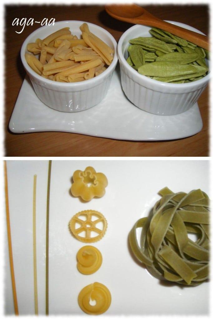 rodzaje makaronów
