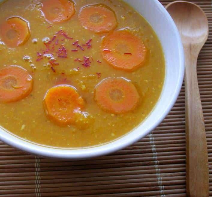 Zupa krem z marchw