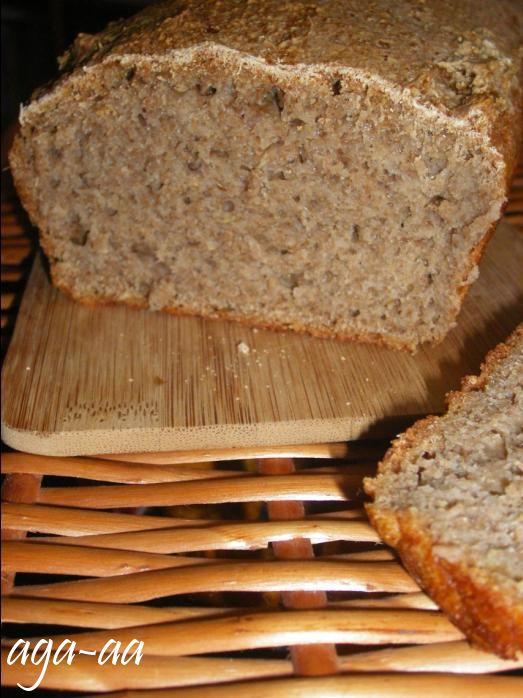 przepis na chleb żytni razowy