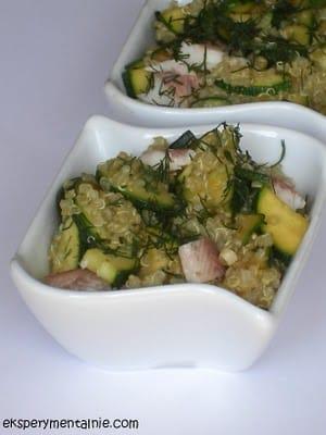 quinoa z ptragiem
