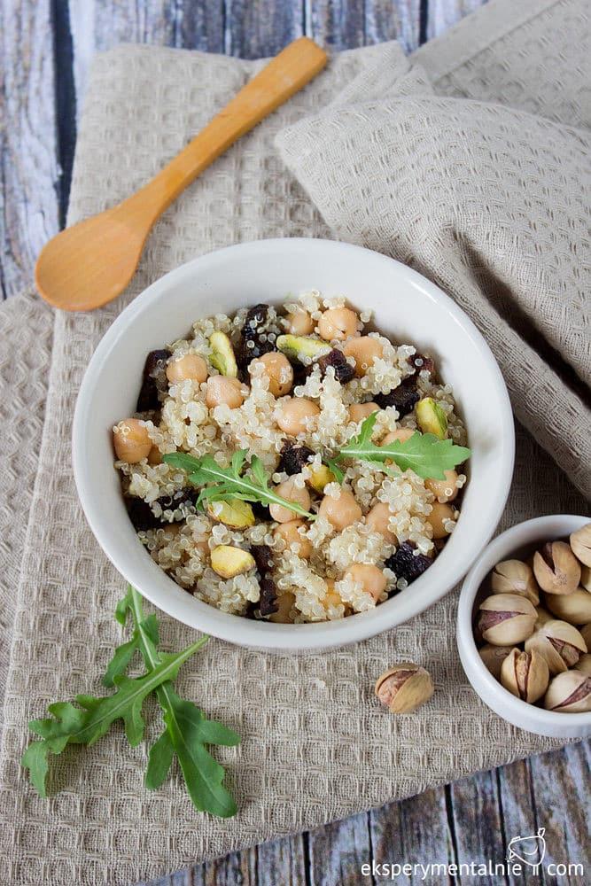 quinoa z ciecierzyca