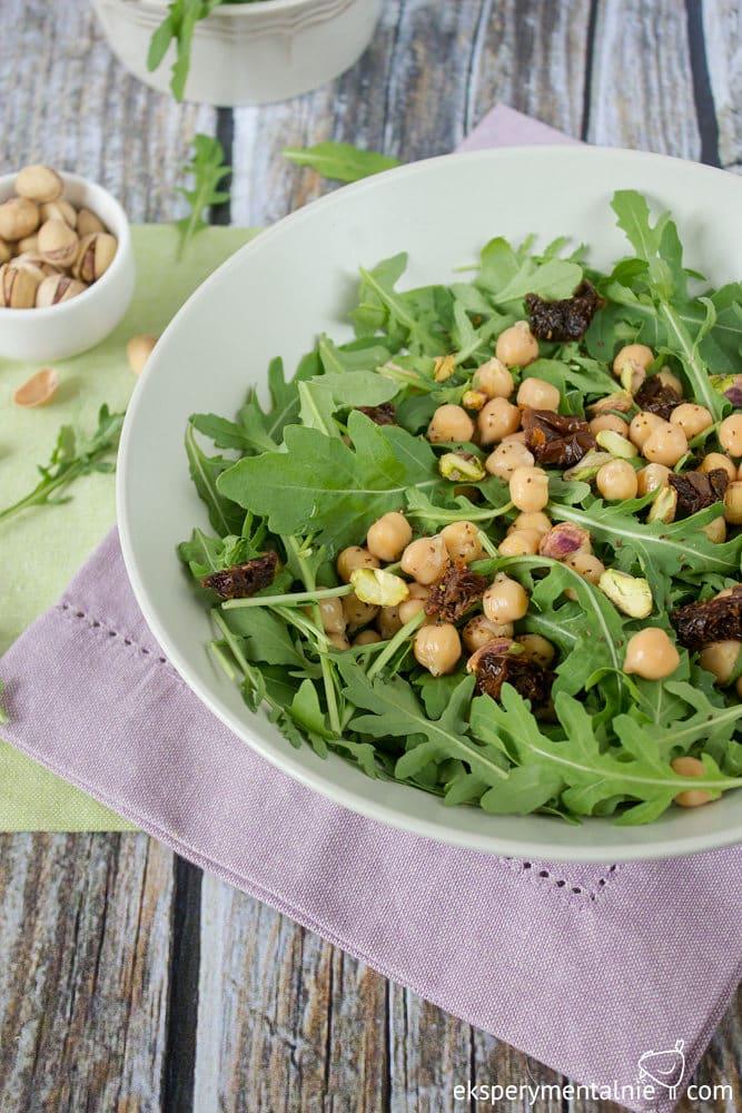 Ciecierzyca Z Rukola Przepis Na Salatke Z Ciecierzyca