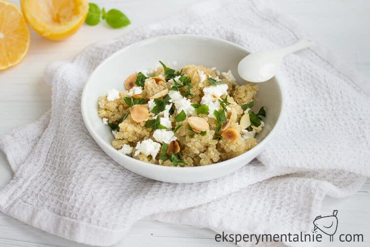 Przepis na quinoa