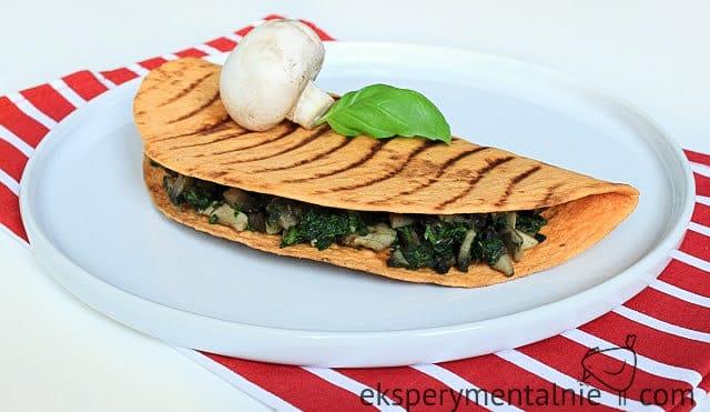 tortilla z farszem