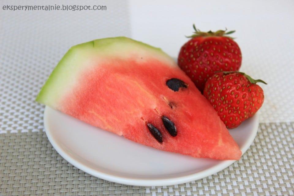 arbuz i truskawki