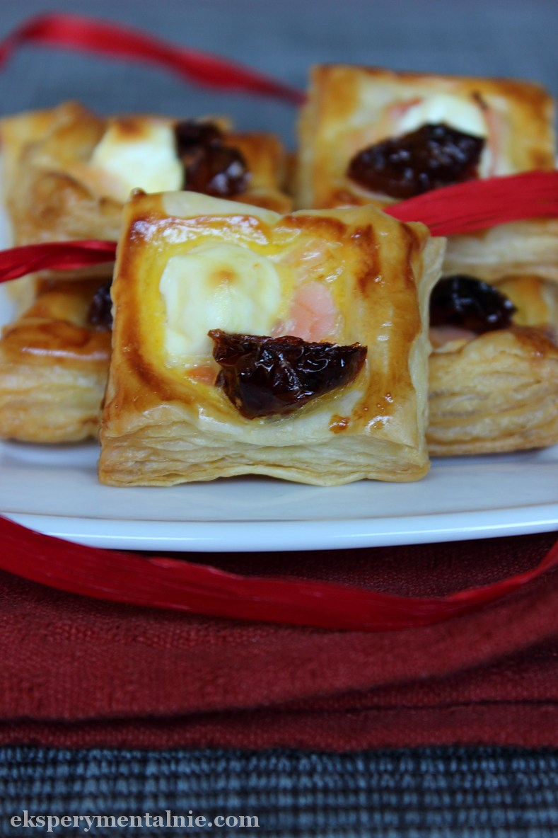 przekąski z ciasta francuskiego