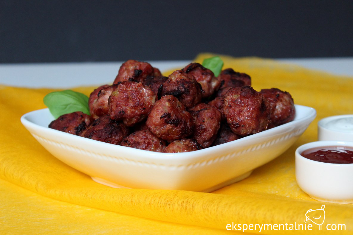 pulpeciki z mięsa mielonego