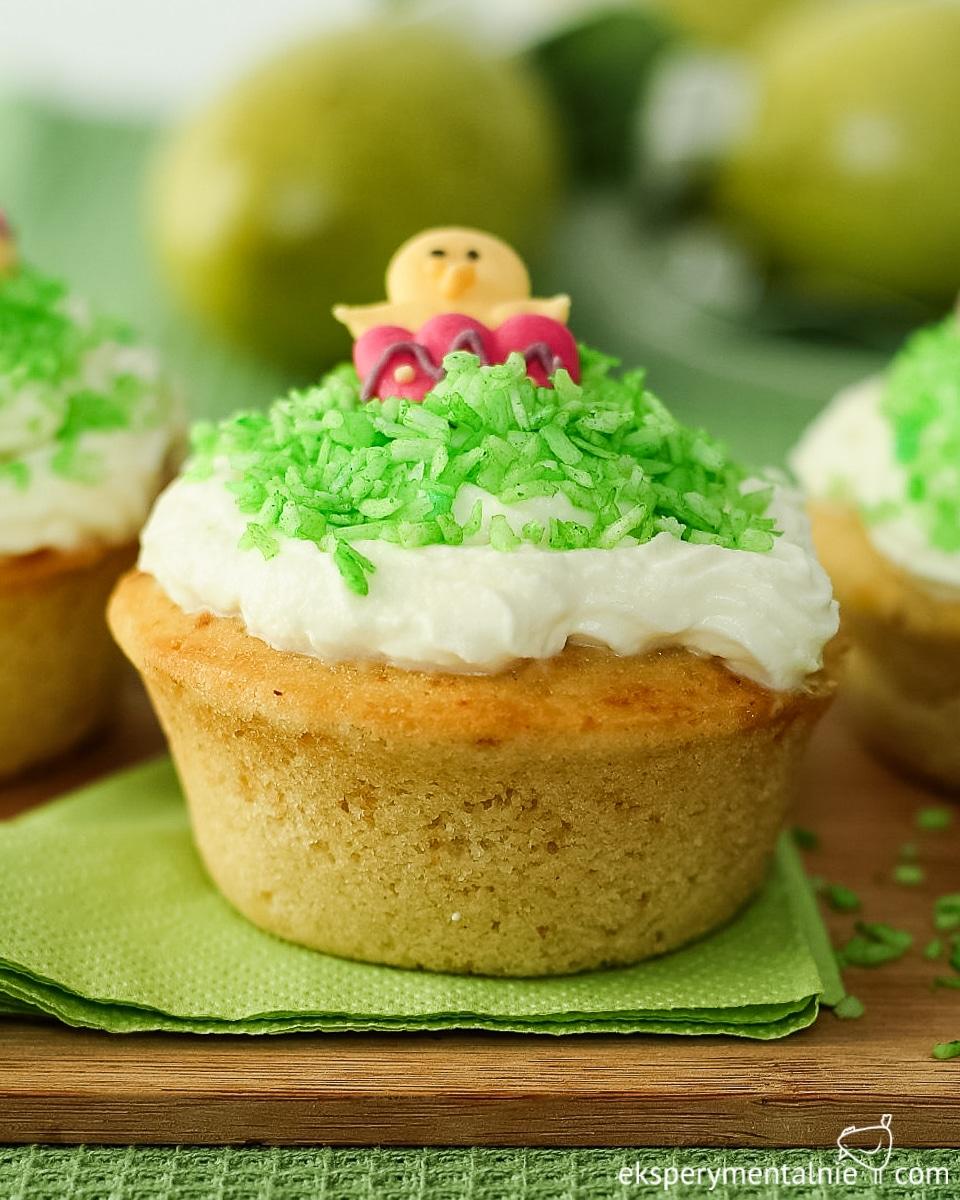 muffinki cytrynowe na Wielkanoc