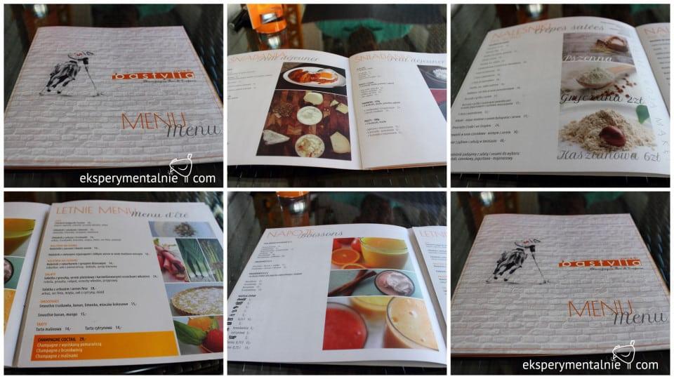 bastylia naleśnikarnia menu