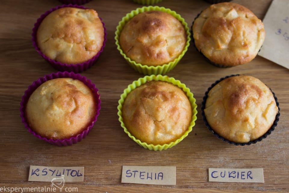 muffinki z ksylitolem