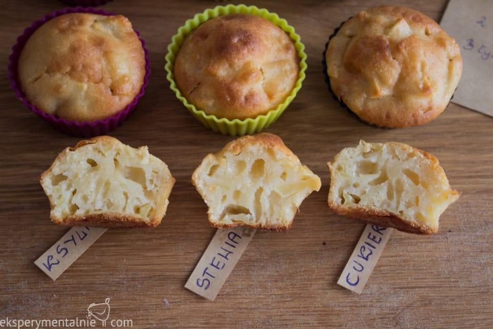 muffinki ze stewią