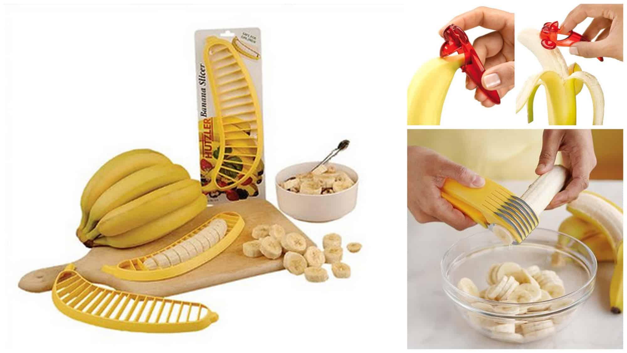 kuchenne gadżety - do krojenia banana