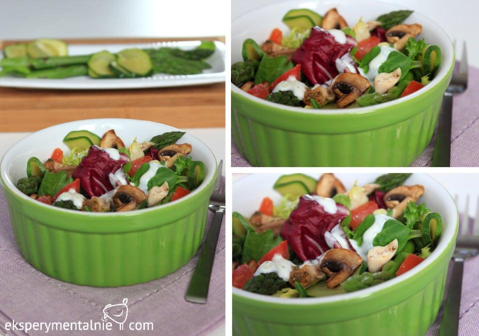 salatka ze szparagami