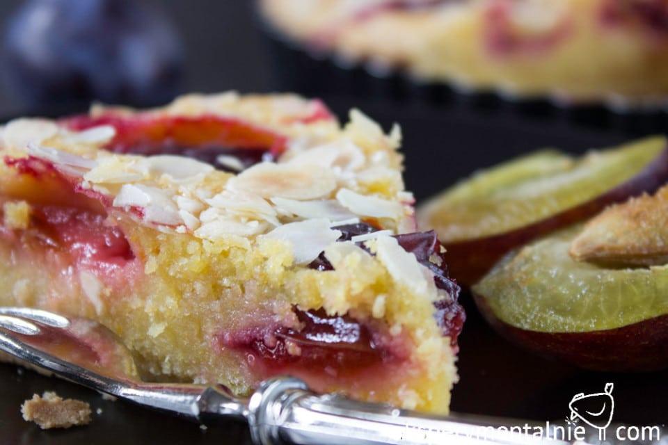 gluten free plum tart