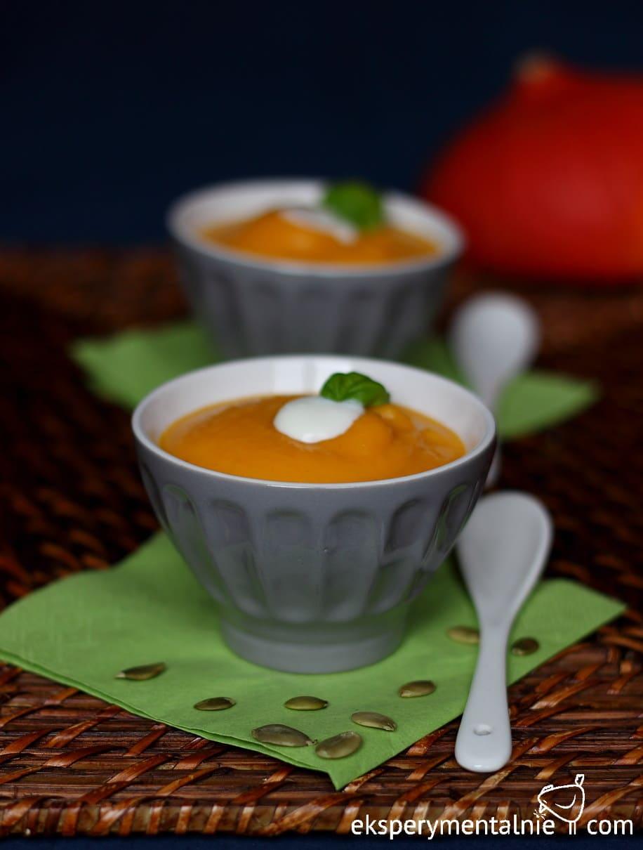 zupa krem z dyni i marchwi