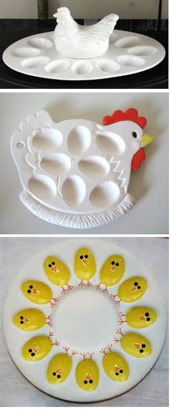 talerz na jajka