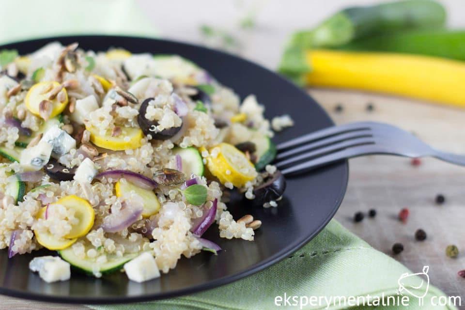 quinoa with zucchini