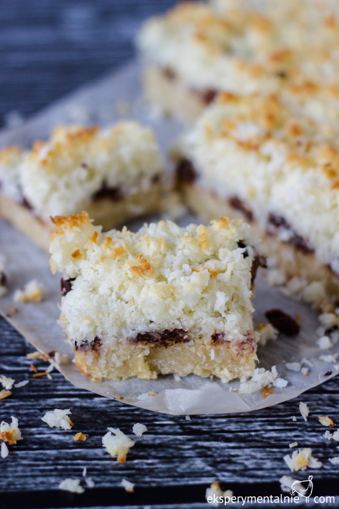 bezglutenowe ciasto kokosowe