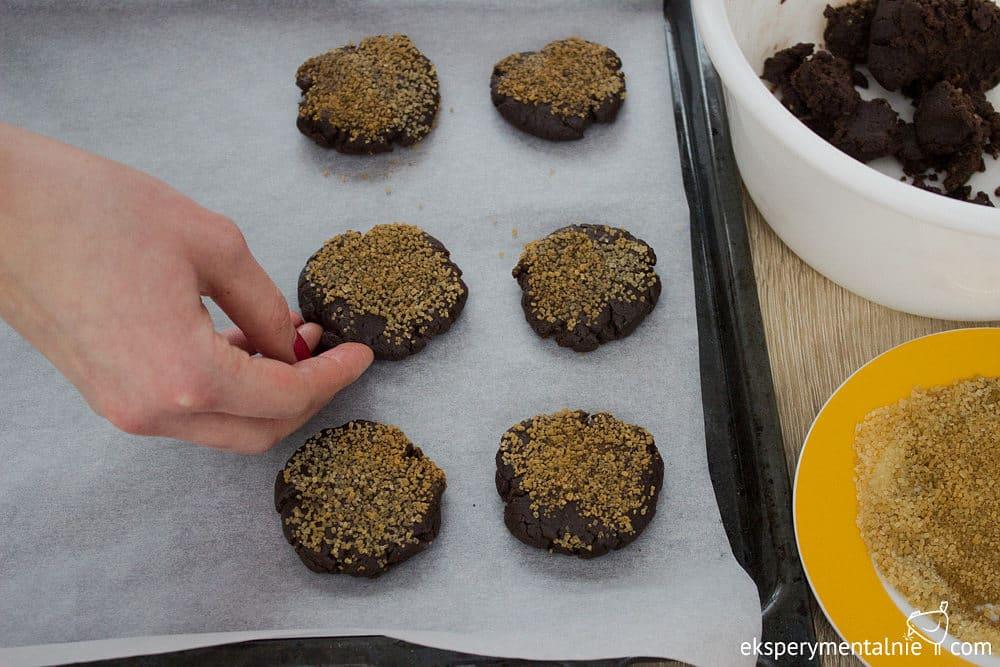 kakaowe ciastka wegańskie