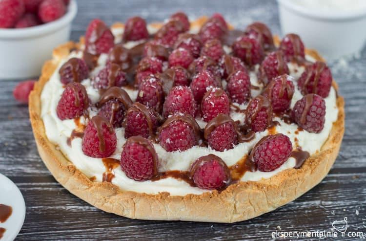 Gluten free Raspberry & Mascarpone Tart