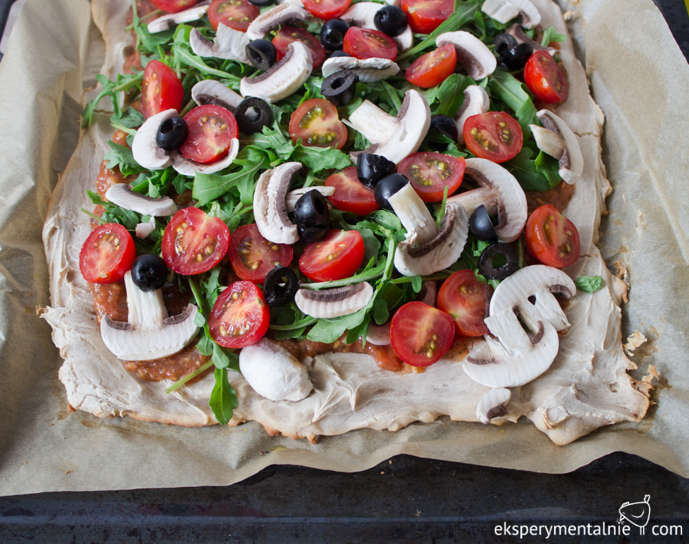 pizza bezglutenowa wegańska