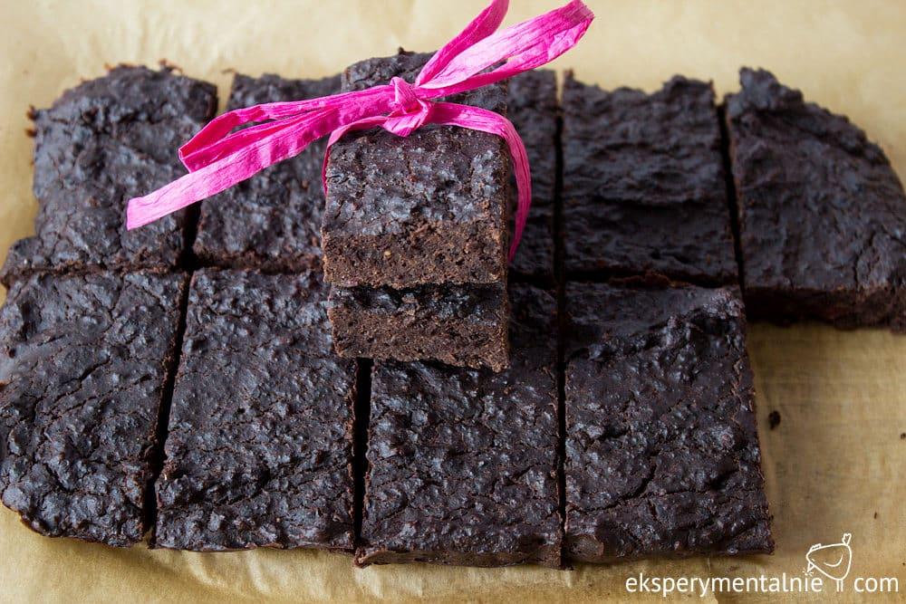 domowe batony proteinowe czekoladowe
