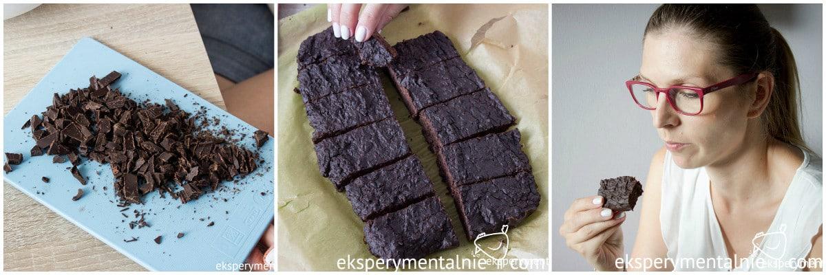 czekoladowe batony proteinowe