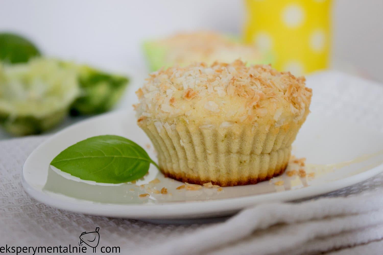 muffinki kokosowo limonkowe
