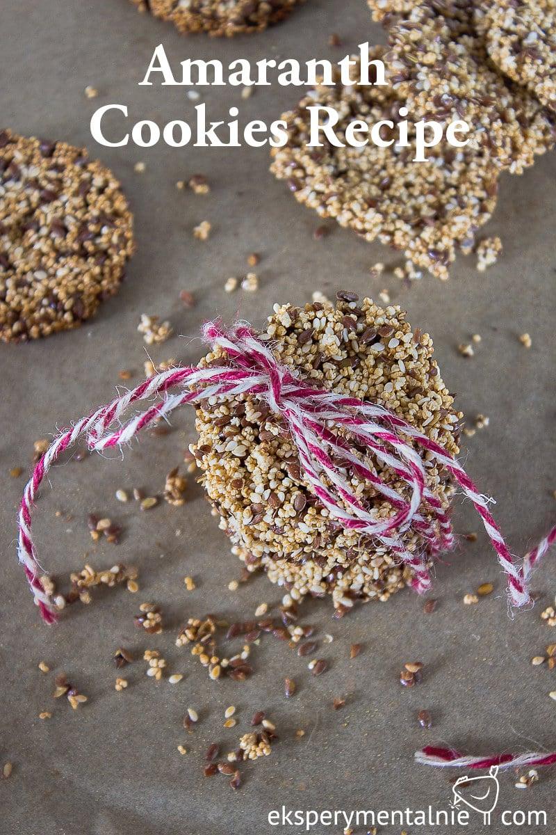 Amaranth Cookies Recipe