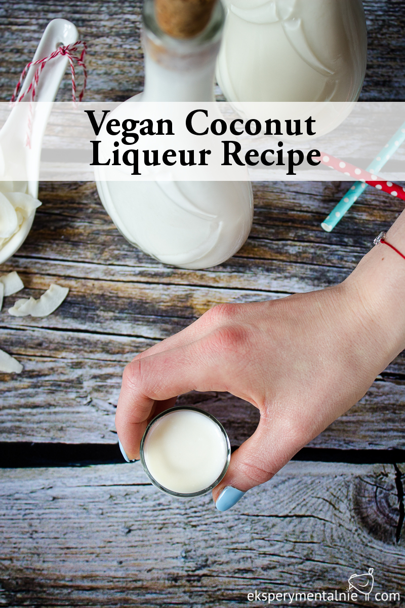vegan coconut liqueur recipe