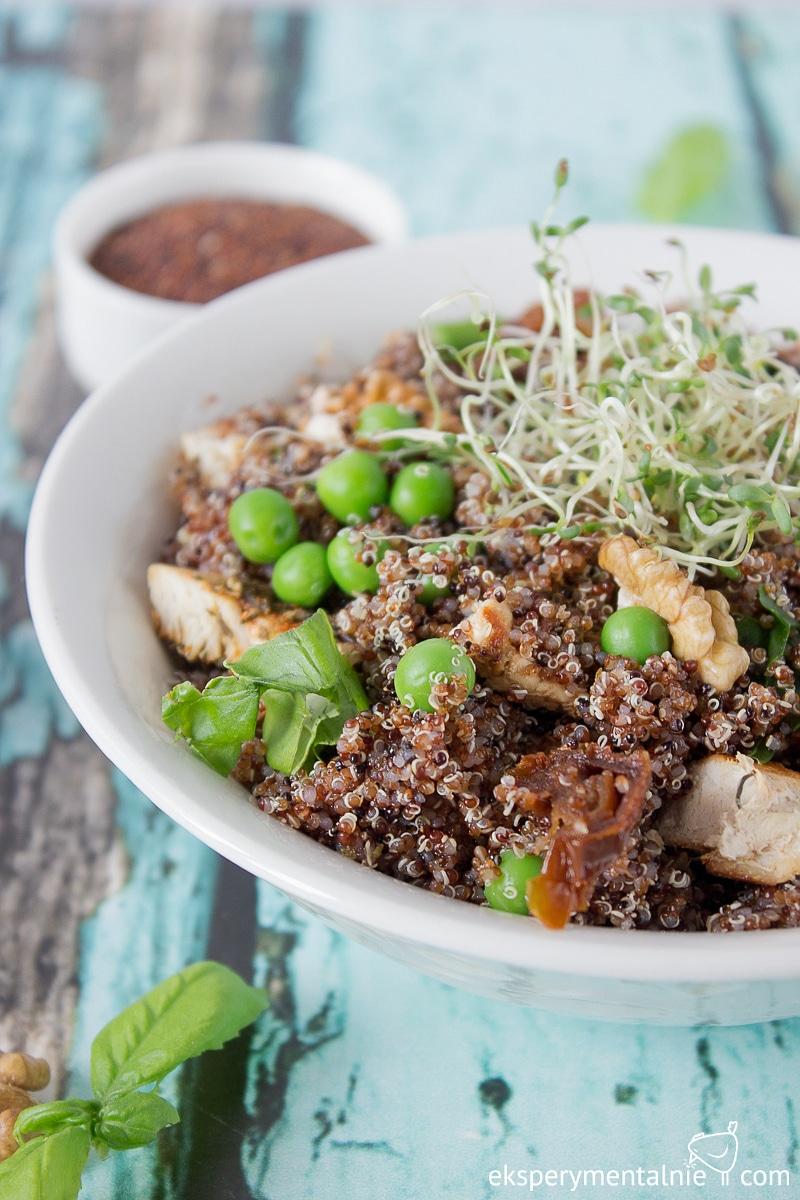 przepis na obiad - canihua z kurczakiem