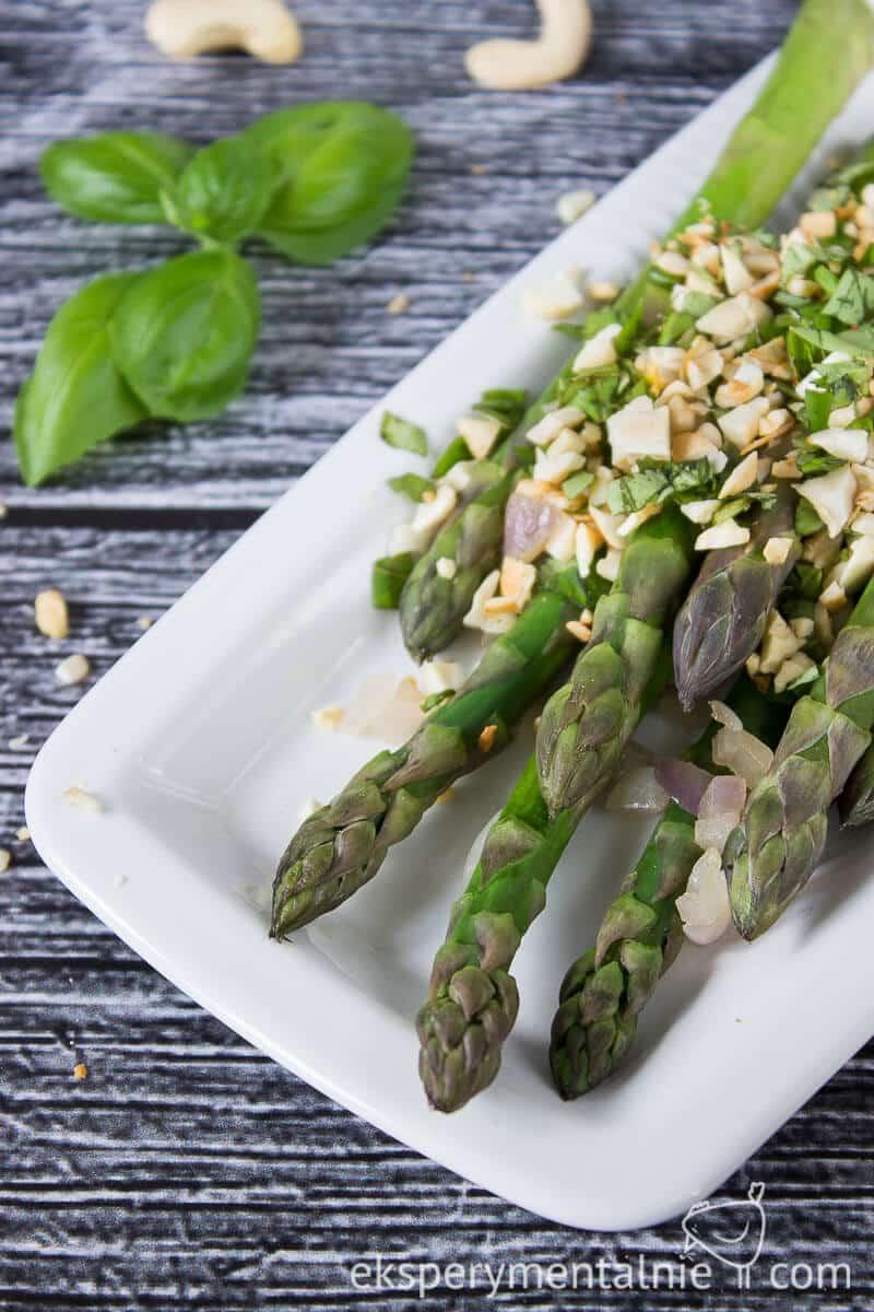 szybki przepis na szparagi na obiad