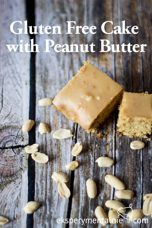 Gluten Free Cake with Peanut Butter