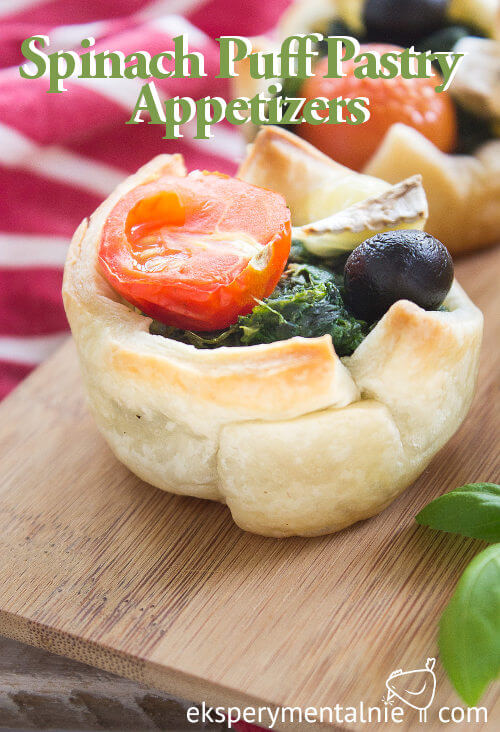 Spinach Puff Pastry Appetizers