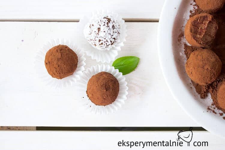 domowe czekoladki - prezent na szybko