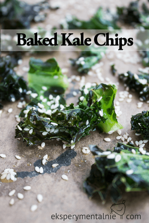 Baked Kale Crisps Recipe
