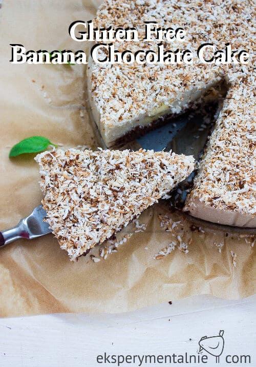 gluten free banana chocolate cake