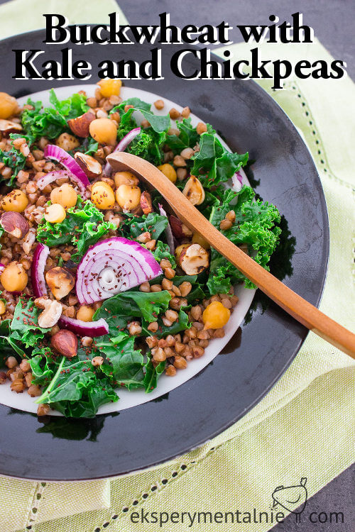 Buckwheat with Kale and Chickpeas