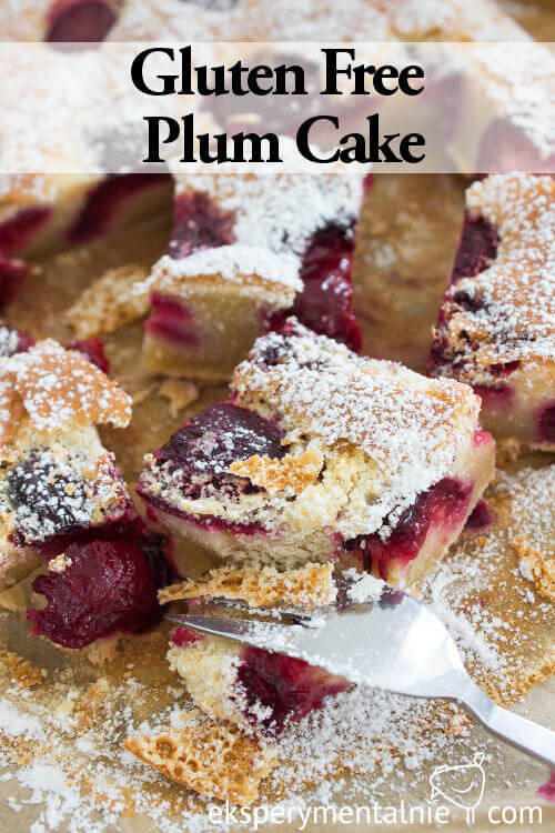 gluten free plum cake