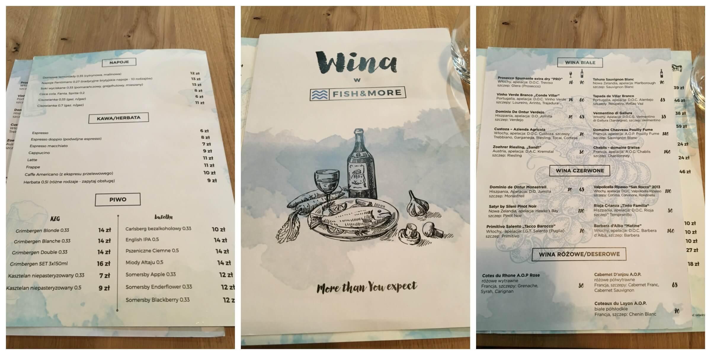 menu fish&more