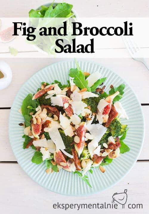 Fig and Broccoli salad