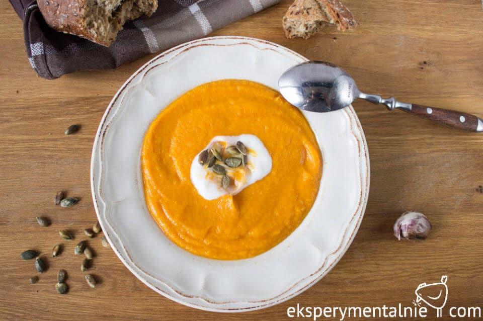 Zupa krem z pieczonych warzyw
