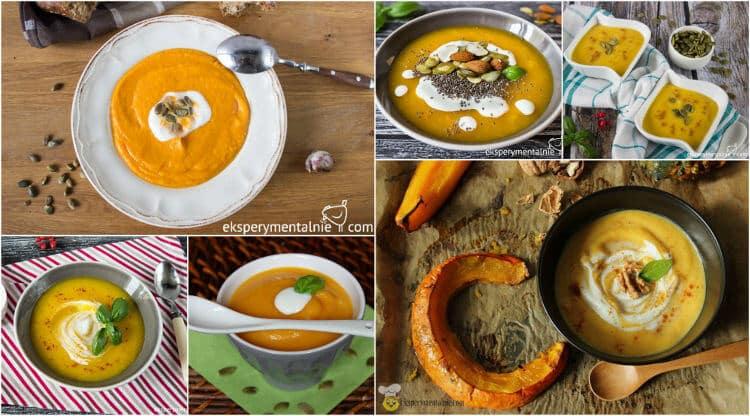 przepisy na zupę krem z dyni