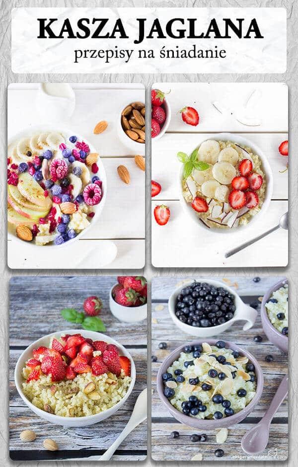 kasza jaglana przepisy na śniadanie