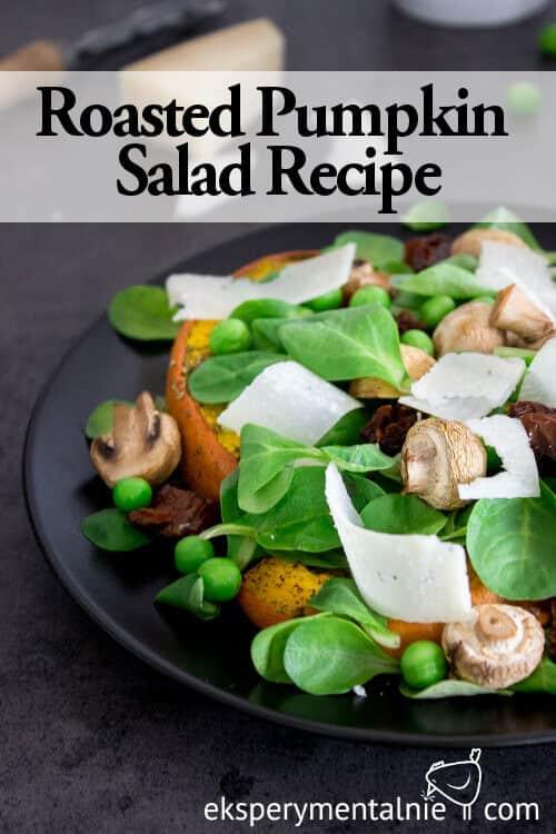 roasted pumpkin salad recipe