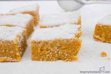 Dynia na słodko - ciasto z dyni bez pieczenia