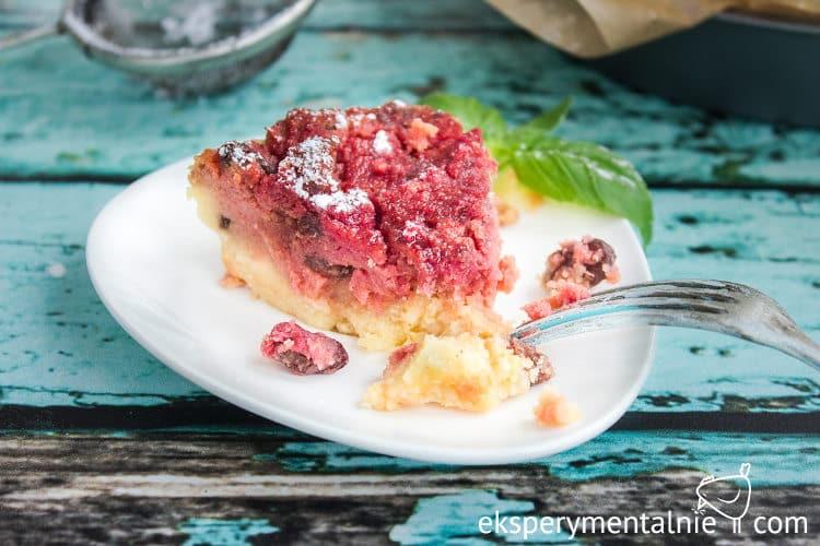 Jaglane ciasto z burakami