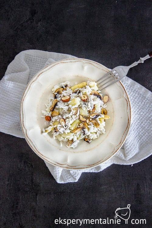 przepis na risotto ze szparagami i pieczarkami